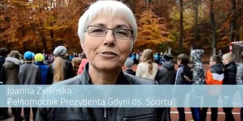 Joanna Zielińska i Paweł Brutel o nowym boisku przy SP 26 w Gdynia