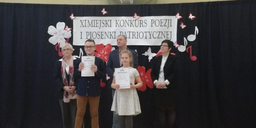 Wyniki Miejskiego Konkursu Piosenki i Poezji Patriotycznej