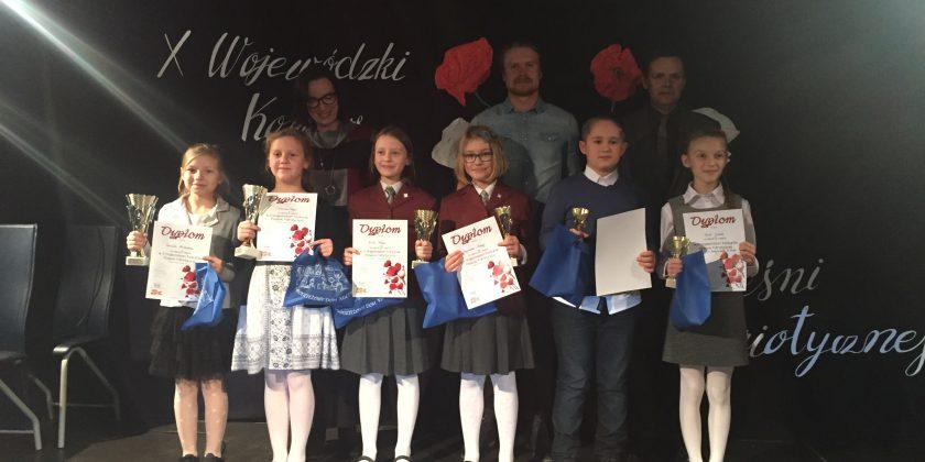 Sukces Basi i Weroniki w Konkursie Wojewódzkim