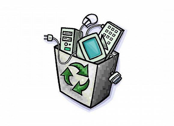 Znalezione obrazy dla zapytania elektrośmieci