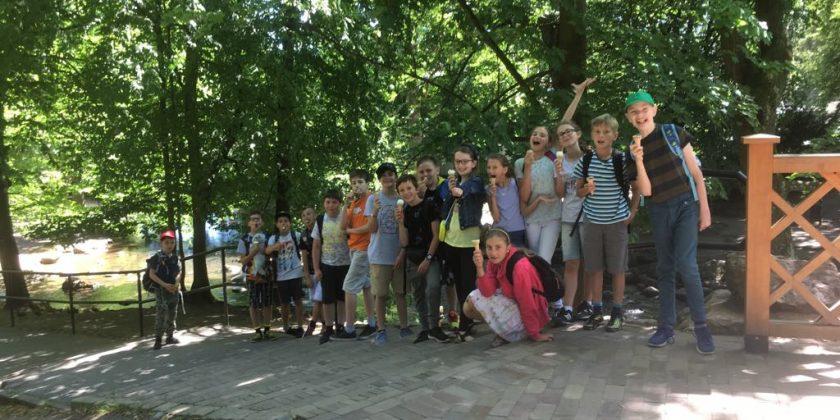 5b w Parku Oliwskim