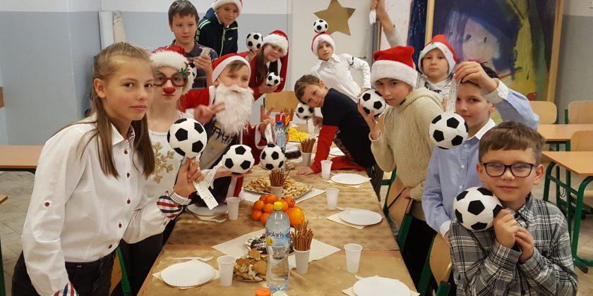 Życzenia świąteczne – klasa sportowa