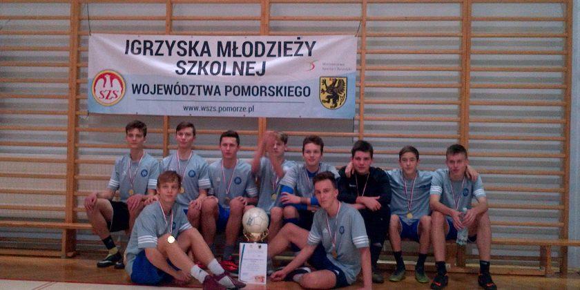 Futsal chłopców – SP 26 najlepsza w województwie pomorskim !