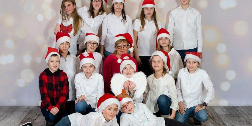 Życzenia świąteczne od 6a