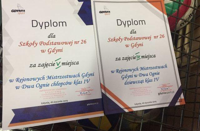 Rejonowe Mistrzostwa Gdyni w Dwa Ognie