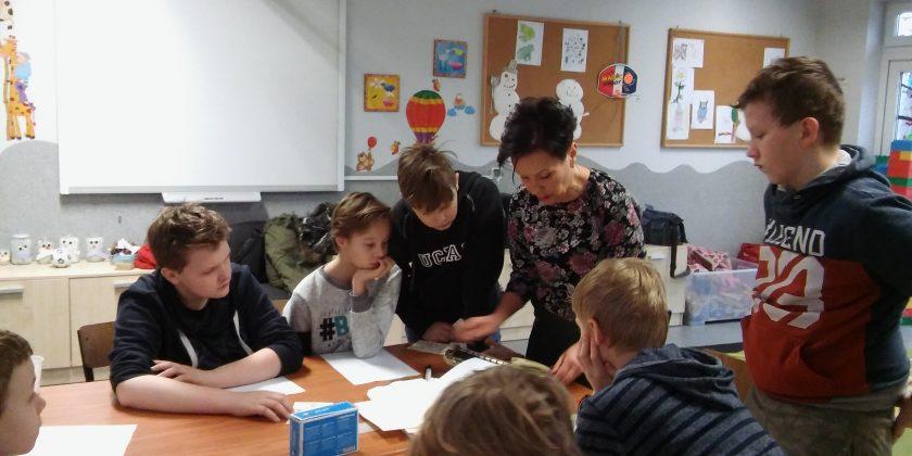 Szkole Koło Caritas – warsztaty