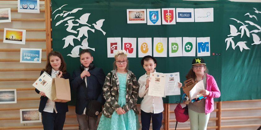 Sukces w Międzyszkolnym Konkursie Recytatorskim Poezji w Języku Angielskim