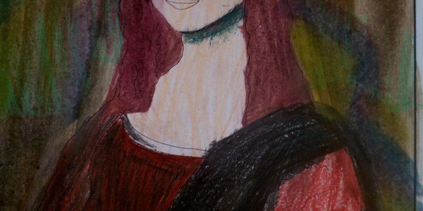 Mona Lisa okiem 5b.