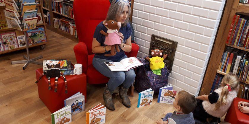 Spotkanie ze znaną autorką książek dla dzieci