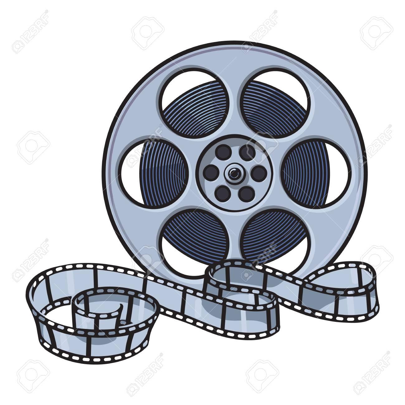 Filmrolle Gezeichnet