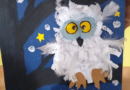 Piękne sowy – zajęcia decoupage z plastyką