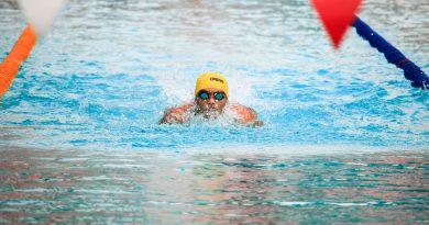 Rozgrzewka pływacka