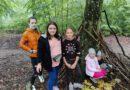 Jesienna wędrówka po lesie