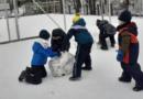 Zabawy na śniegu – zerówka